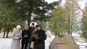 Komunistiskā genocīda upuru piemiņas dienas pasākums pie piemiņas akmens_1