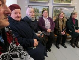 Jura Gaigala gleznu izstādes atklāšana_6