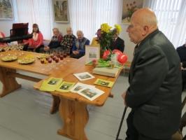 Jura Gaigala gleznu izstādes atklāšana (06.02.2015)