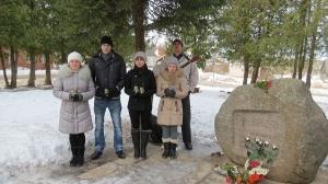 Komunistiskā genocīda upuru piemiņas dienas pasākums pie piemiņas akmens_3
